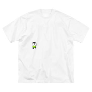 ミニ沢くん Big silhouette T-shirts