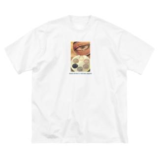 じぶんみがき Big silhouette T-shirts
