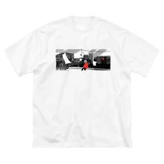 いつ終わる? Big silhouette T-shirts