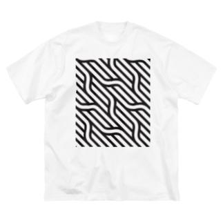 NOIZ#4 Big silhouette T-shirts