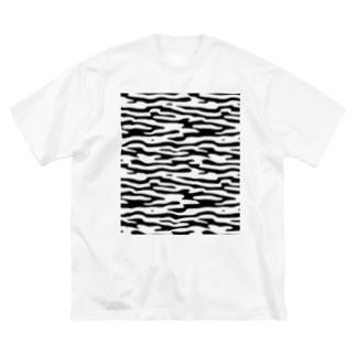 NOIZ#6 Big silhouette T-shirts