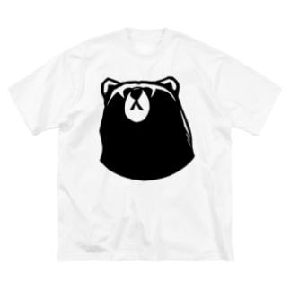 kuma. Big silhouette T-shirts