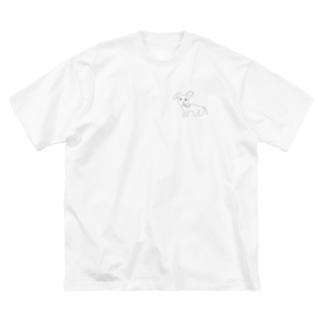 Futsuu no Zou Big silhouette T-shirts