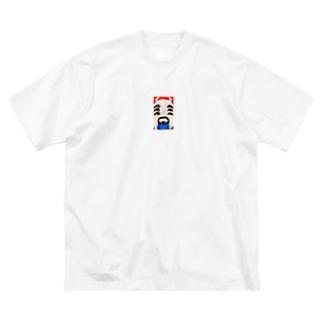 「鬼」のビッグシルエットTシャツ2 Big silhouette T-shirts