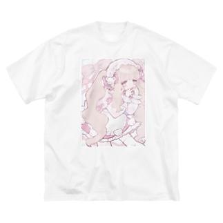 めいどさん Big Silhouette T-Shirt