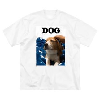 dog Big silhouette T-shirts