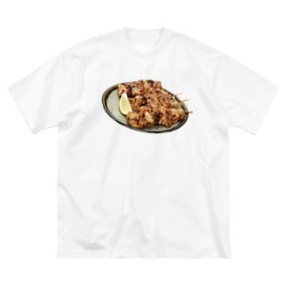 焼き鳥 Big silhouette T-shirts