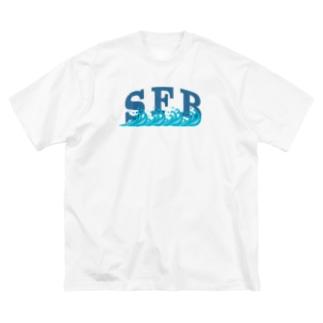 SFBロゴ Big silhouette T-shirts