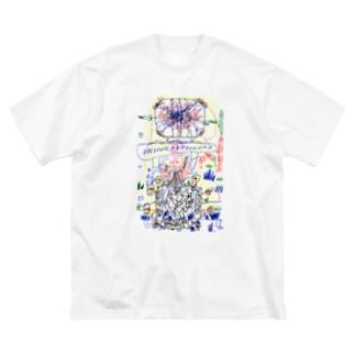 akiowatanabe No.01 Big silhouette T-shirts