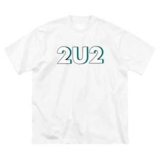 2U2(梅雨憂鬱) Big silhouette T-shirts