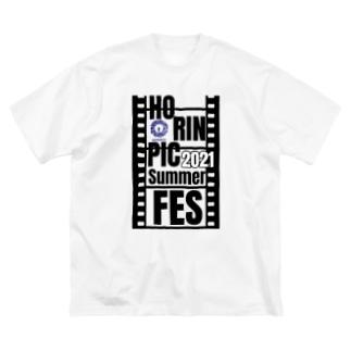 ホリンピック夏フェスfilm Big silhouette T-shirts