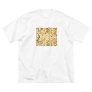 ミュシャ Alphonse Mucha Big silhouette T-shirts