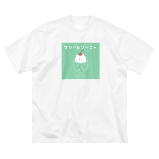 クリームソーニャ Big silhouette T-shirts
