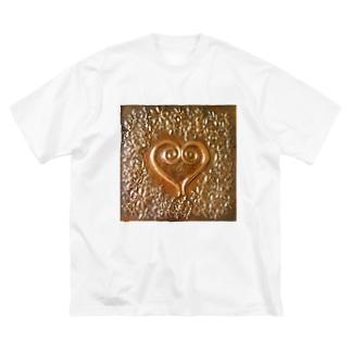 ふたり Big silhouette T-shirts