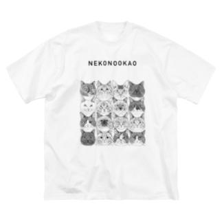 16CAT/第11回同窓会+Cat Apartmentロゴ Big silhouette T-shirts