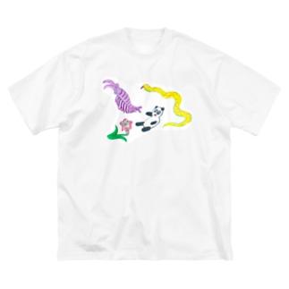 微妙なT Big silhouette T-shirts