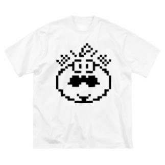 非力なトマト Big silhouette T-shirts