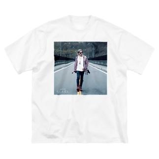"""""""らしんばん"""" WEAR from Next Level(s) Big silhouette T-shirts"""