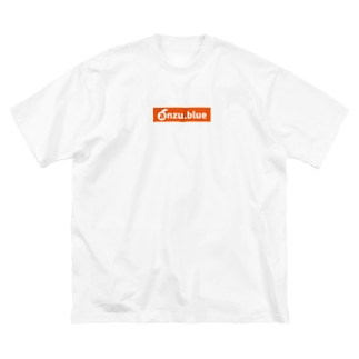 ANZU SHOPのanzu ロゴ(URL) tyle2 Big silhouette T-shirts