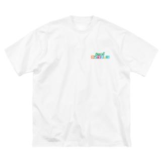 わかづま Big Silhouette T-Shirt