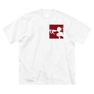 オリジナル@1 Big silhouette T-shirts
