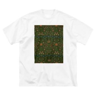 ウィリアム・モリス Big silhouette T-shirts