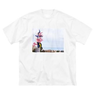 Spain Tシャツ Big silhouette T-shirts
