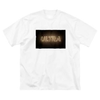 ULTRA Tシャツ Big silhouette T-shirts