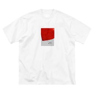 忖度 Big silhouette T-shirts