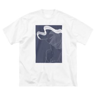 お気に入りをいつでも♡ Big silhouette T-shirts