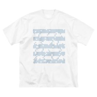 ボーダーTシャツ  Big silhouette T-shirts