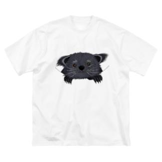 プリズモリイの箱のビントロングぅー Big silhouette T-shirts