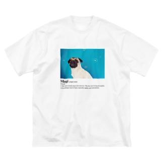 Mugi Big silhouette T-shirts