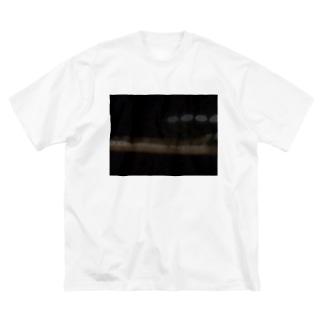 光のたまご Big silhouette T-shirts