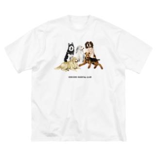 大きい犬たち Big T-shirts