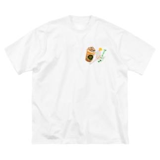 スバタのお兄さんもびっくり Big silhouette T-shirts