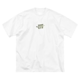 Jicca Big silhouette T-shirts