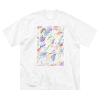 春一番 Big silhouette T-shirts