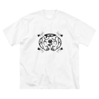 大切 Big silhouette T-shirts