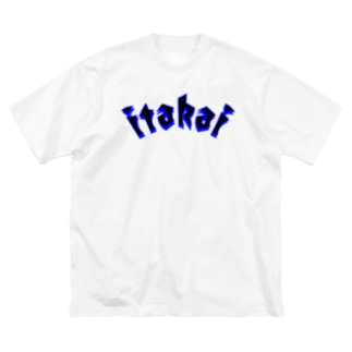 板会 Big silhouette T-shirts