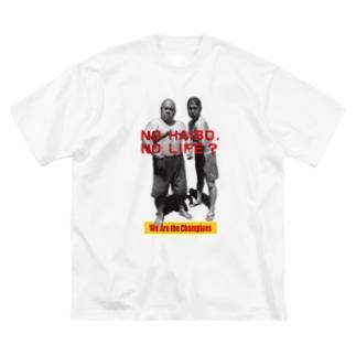 ハワイな二人〜Champion ver. Big silhouette T-shirts