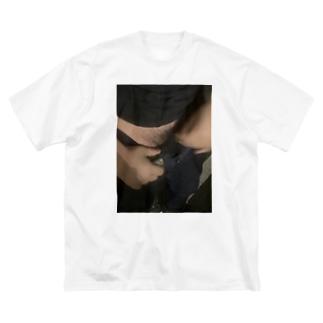 西成のチン香花火 Big silhouette T-shirts