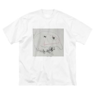 はじめてのパパ Big silhouette T-shirts