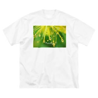 ビョウヤナギ Big silhouette T-shirts