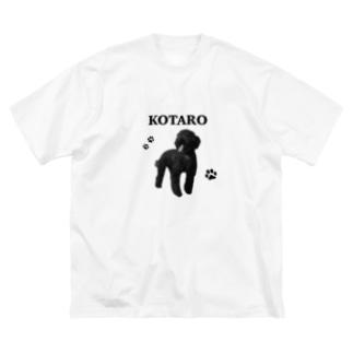 こたろう Big silhouette T-shirts