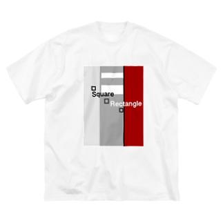 Square    Rectangle  Big Silhouette T-Shirt