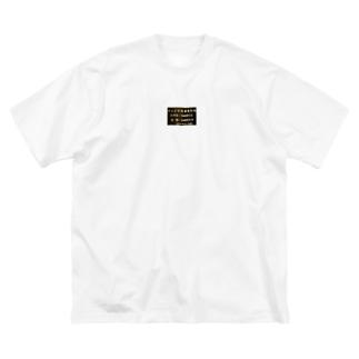 テレビっ子 Big silhouette T-shirts