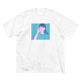 early summer Big silhouette T-shirts