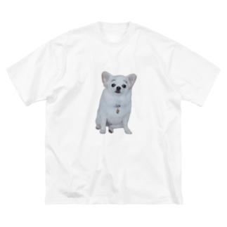 まゆげこむぎこ Big Silhouette T-Shirt