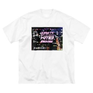 JQKM-TV クロージング Big silhouette T-shirts